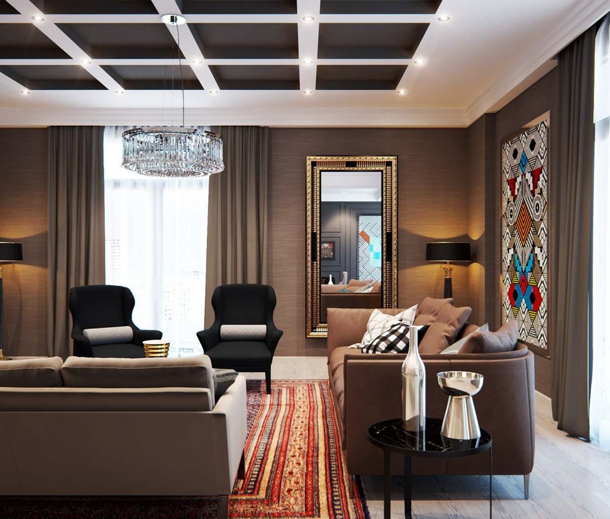 Elegant Contemporary Living Room Elegant A Modern Interior Home Design which Bining A Classic Decor that Would Bring Out A Trendy