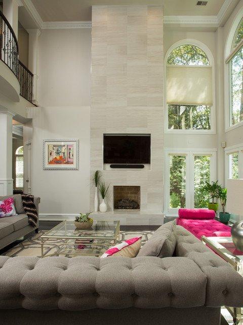 Elegant Contemporary Living Room Fresh Modern & Elegant Mclean Home Contemporary Living Room Dc Metro by Michael Nash Design