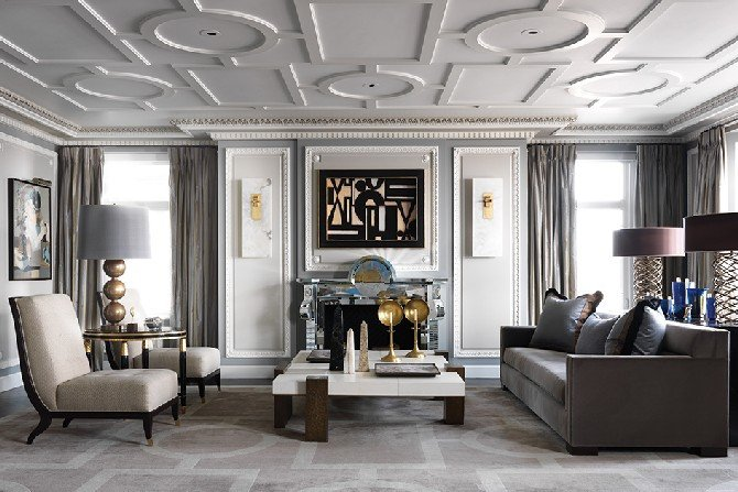 Elegant Contemporary Living Room Fresh sophisticated Living Room Designs by Jean Louis Deniot