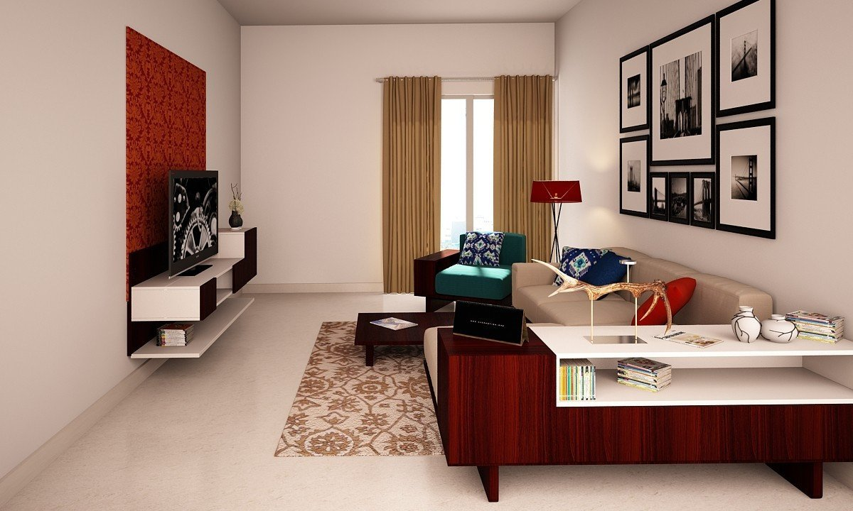 Elegant Contemporary Living Room New Buy Elegant Contemporary Living Room Online In India Livspace