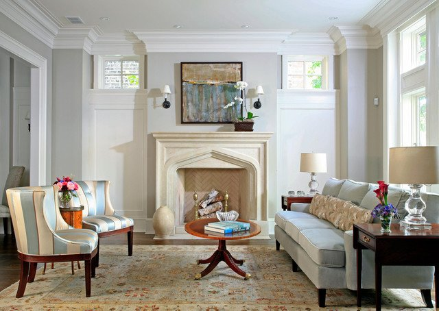 English Traditional Living Room Awesome English City House Living Room Traditional Living Room Chicago by Bba Architects