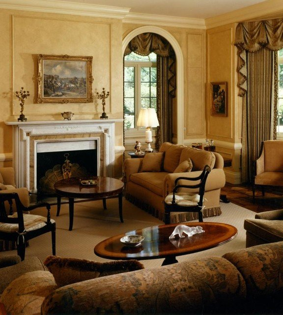 English Traditional Living Room Beautiful English Manor House Traditional Living Room Chicago by Gray & Walter Ltd