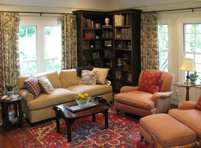 English Traditional Living Room Fresh English Cottage with French Country Furnishings Traditional Living Room Los Angeles by