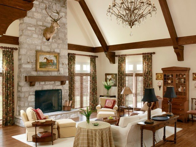 English Traditional Living Room Lovely Addition and Renovation to A Lovely English Cottage Traditional Living Room St Louis by