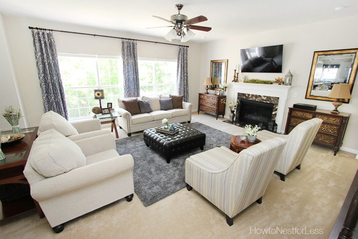 Family Room Wall Decor Ideas Lovely Family Room Reveal How to Nest for Less™