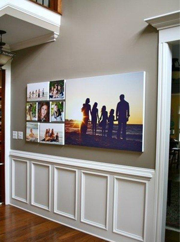 love family photo wall decor ideas