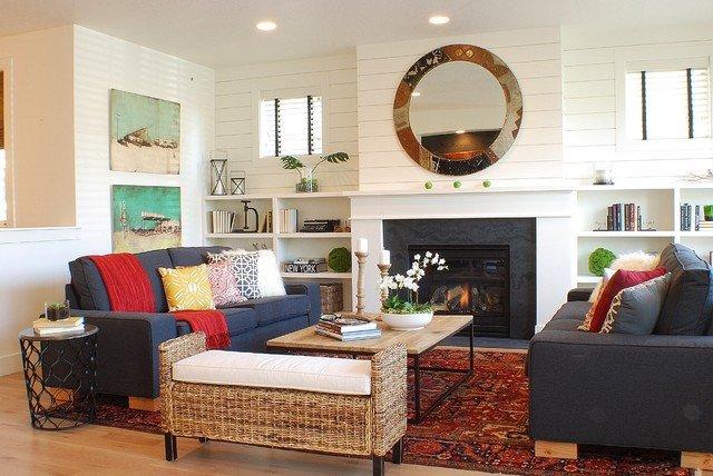 Farmhouse Contemporary Living Room Awesome Modern Farmhouse Living Room