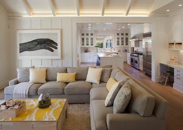 Farmhouse Contemporary Living Room Beautiful Modern Farmhouse Farmhouse Living Room San Francisco by Modern organic Interiors