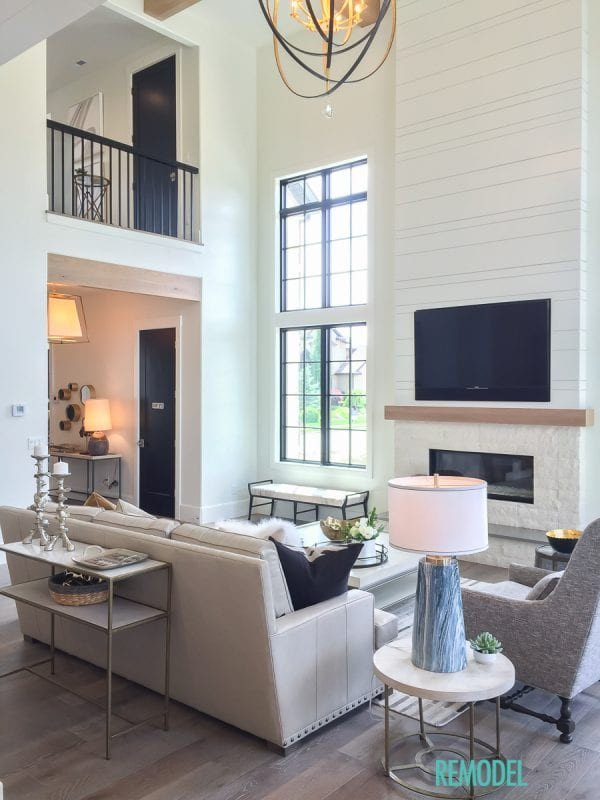 Farmhouse Contemporary Living Room Fresh Remodelaholic