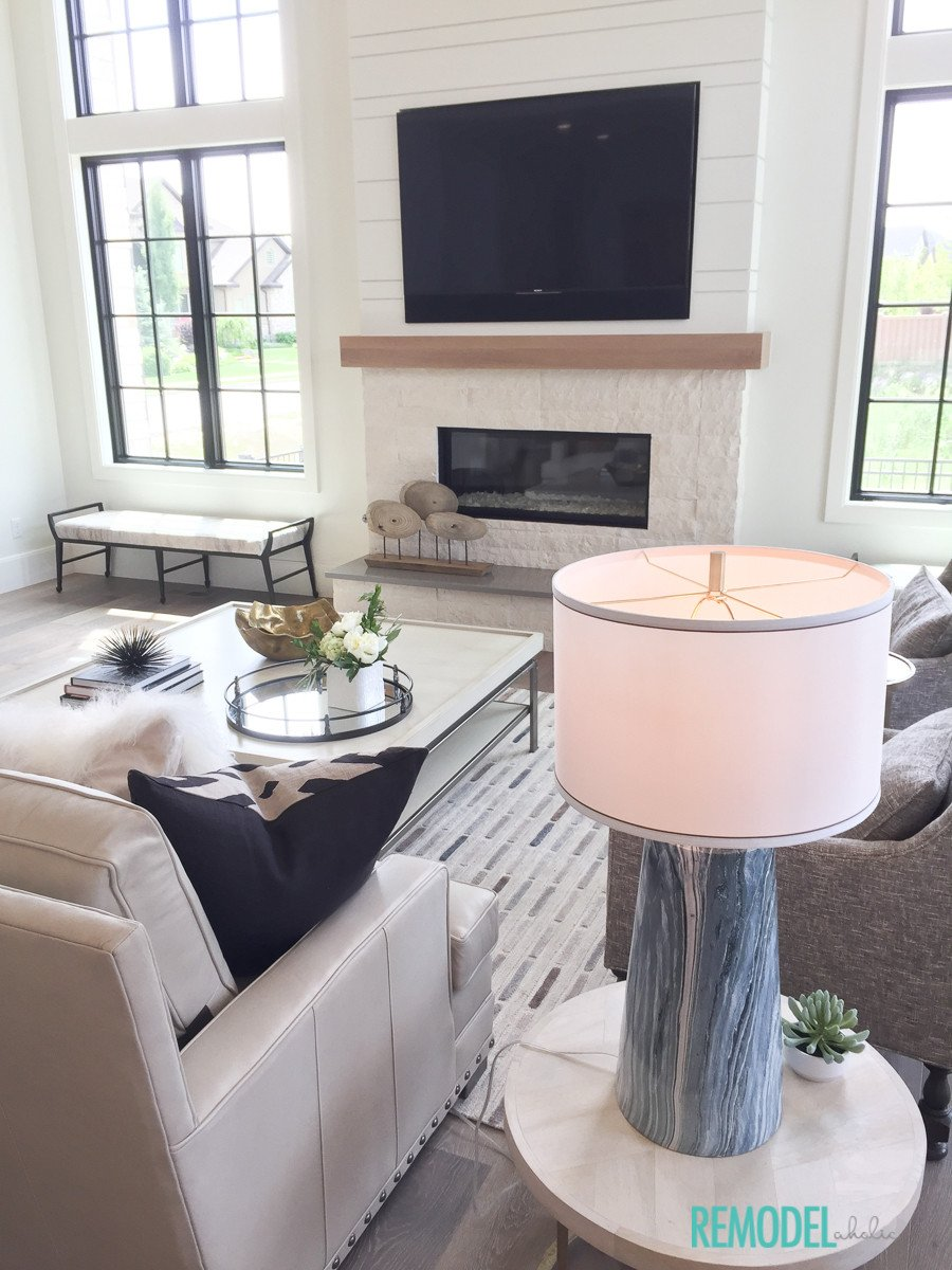 Farmhouse Contemporary Living Room Inspirational Remodelaholic