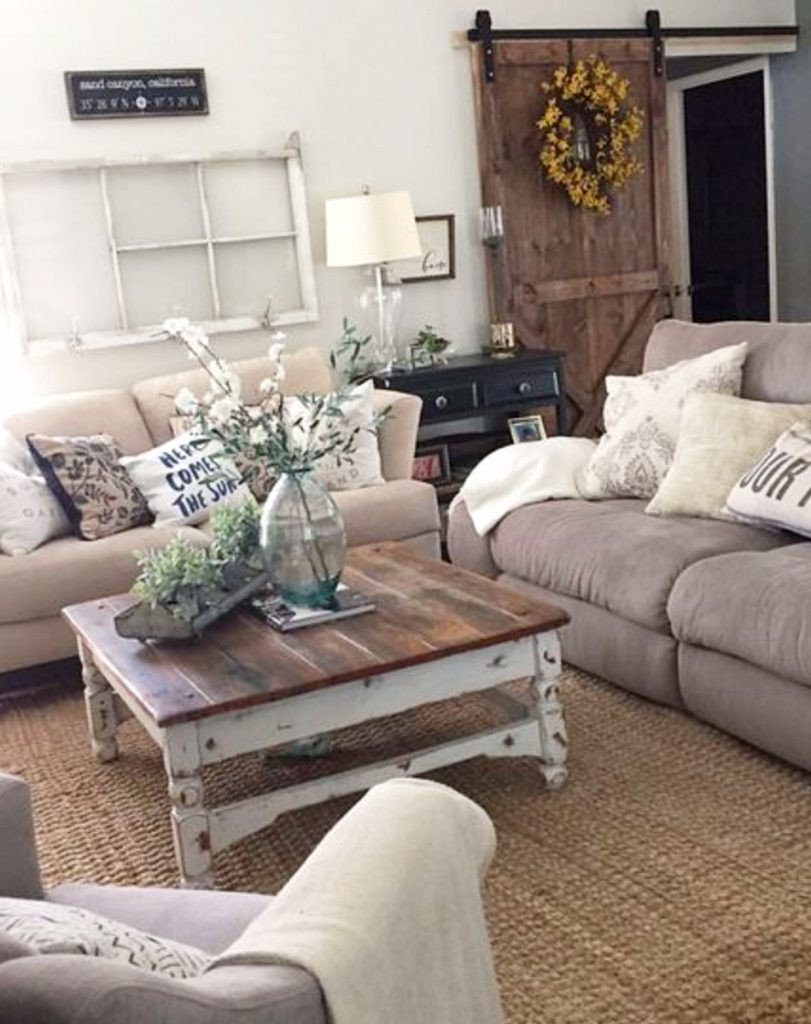Farmhouse Contemporary Living Room Luxury Farmhouse Living Rooms • Modern Farmhouse Living Room Decor Ideas Family Rooms Dens