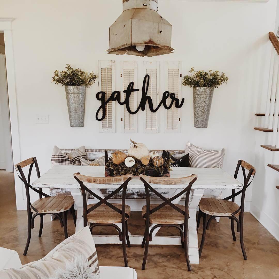 Farmhouse Dining Room Wall Decor Beautiful 37 Best Farmhouse Dining Room Design and Decor Ideas for 2019