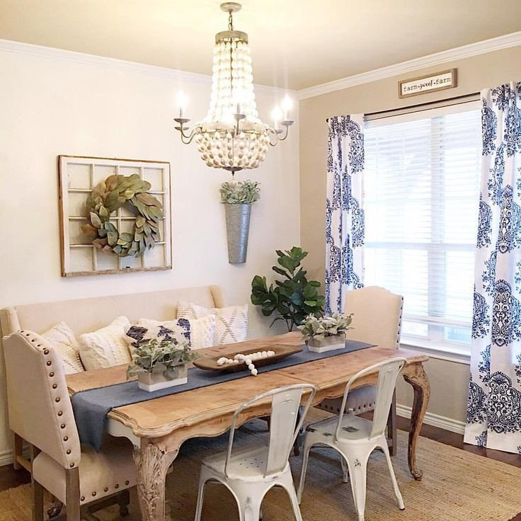 Farmhouse Living Room Curtains Decor Ideas Beautiful Farmhouse Boho Glam Dining Room See This Instagram Photo by thedowntownaly • 1 322 Likes