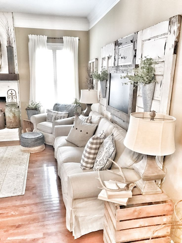 Farmhouse Living Room Curtains Decor Ideas Fresh 27 Rustic Farmhouse Living Room Decor Ideas for Your Home