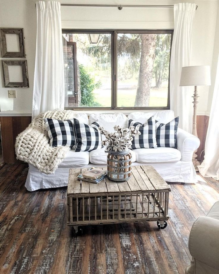 Farmhouse Living Room Curtains Decor Ideas Inspirational 27 Rustic Farmhouse Living Room Decor Ideas for Your Home