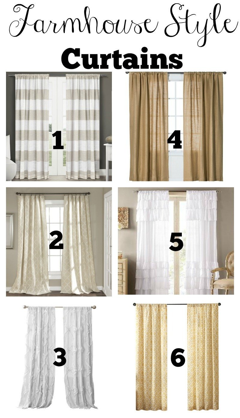 Farmhouse Living Room Curtains Decor Ideas Inspirational Transitioning to Farmhouse Style Shopping Guide