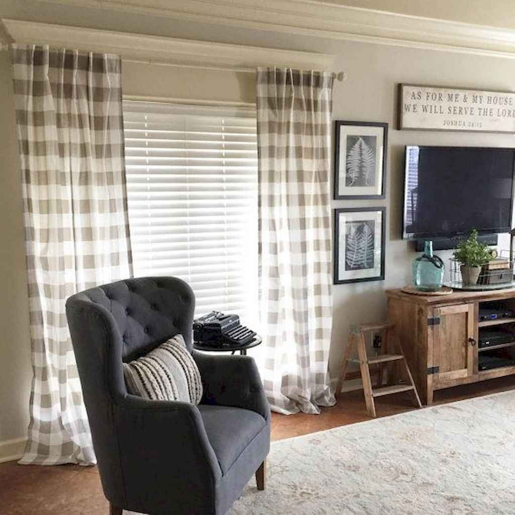 Farmhouse Living Room Curtains Decor Ideas Luxury 27 Modern Farmhouse Curtains for Living Room Decorating Ideas Moodecor