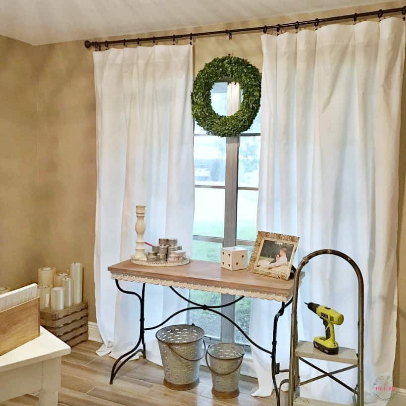 Farmhouse Living Room Curtains Decor Ideas New Farmhouse Style Cheap Curtains Diy No Sew Curtains for $5 Must Have Mom