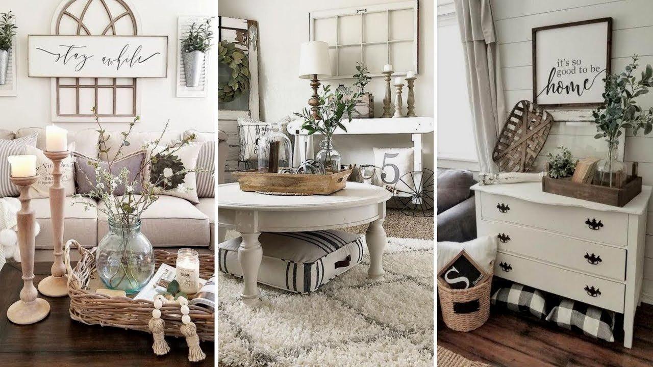 Farmhouse Living Room Decorating Ideas Awesome Diy Farmhouse Style Living Room Decor Ideas Home Decor & Interior Design