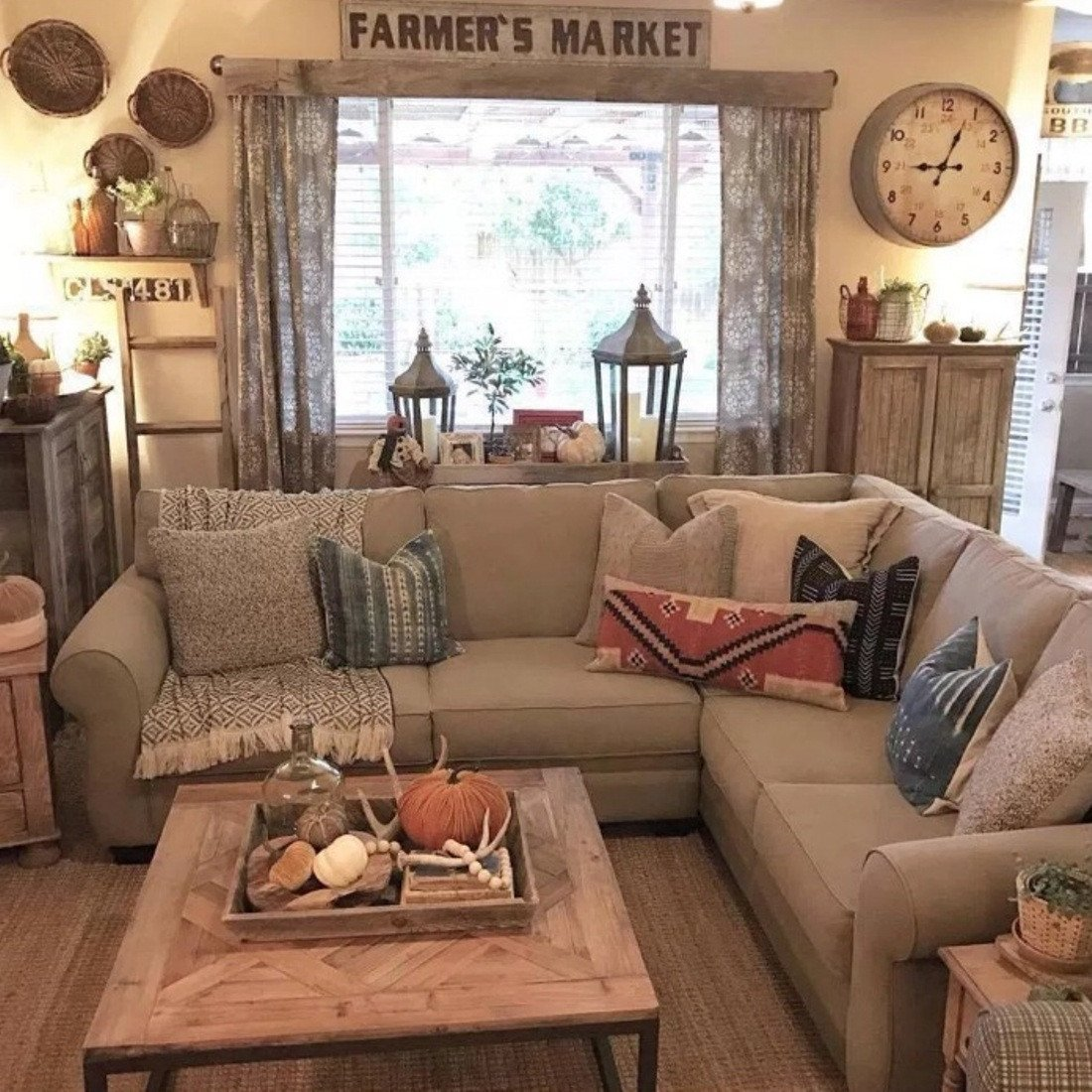 Farmhouse Living Room Decorating Ideas Best Of 4 Simple Rustic Farmhouse Living Room Decor Ideas