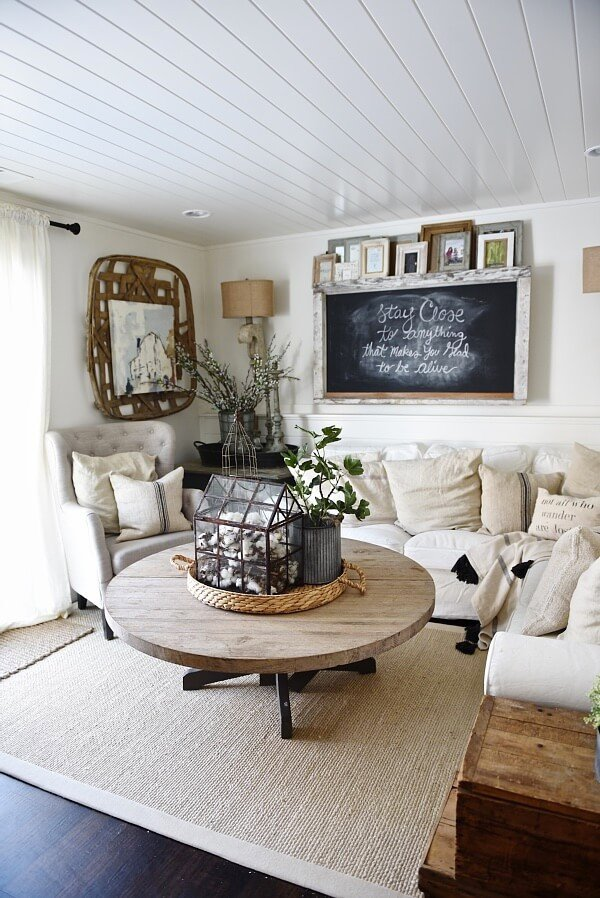 Farmhouse Living Room Decorating Ideas Inspirational 35 Best Farmhouse Living Room Decor Ideas and Designs for 2017