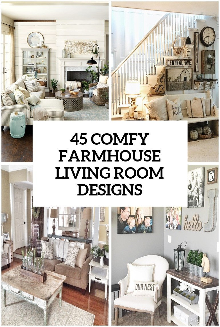 Farmhouse Living Room Decorating Ideas New 45 Fy Farmhouse Living Room Designs to Steal Digsdigs