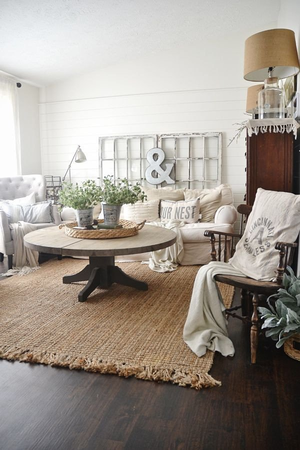 Farmhouse Living Room with Rug Best Of Jute Rug Review – An Honest Review after Three Years Home Decor Love