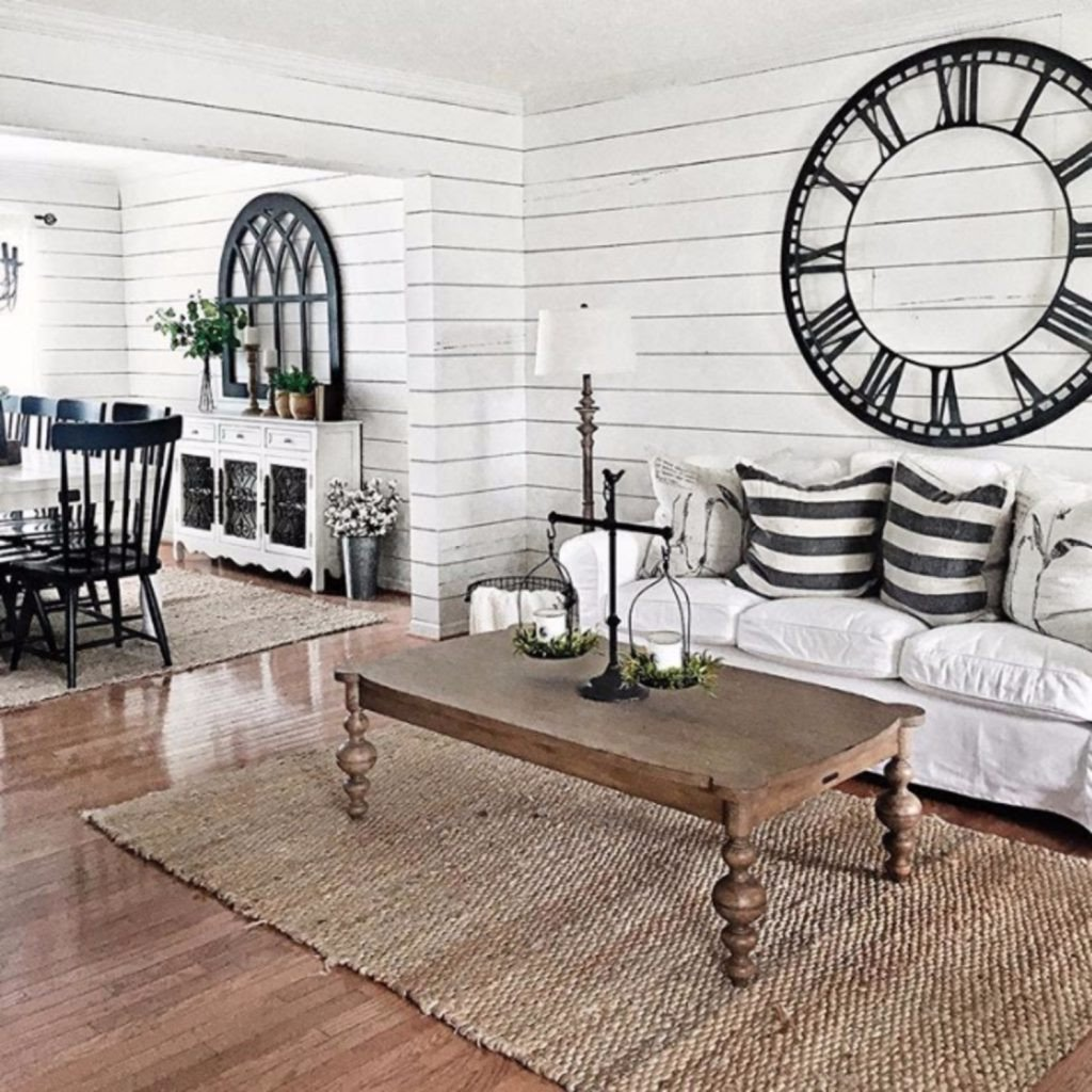 Farmhouse Living Room with Rug Elegant Farmhouse Living Rooms • Modern Farmhouse Living Room Decor Ideas Family Rooms Dens