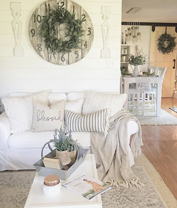 Farmhouse Living Room with Rug Lovely 13 Farmhouse Rugs You Can Actually Afford Lolly Jane