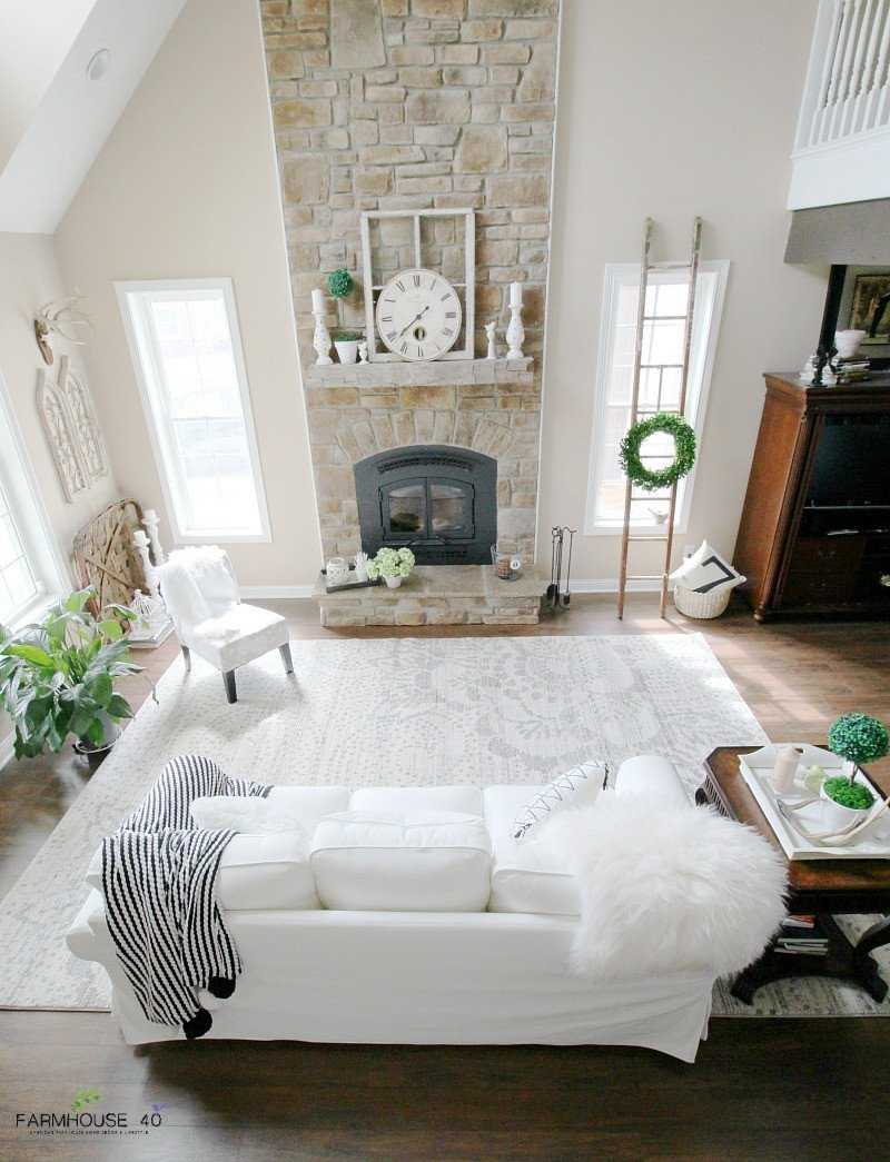 Farmhouse Living Room with Rug Lovely E Room 3 Rugs Vote for Your Favorite Farmhouse 40