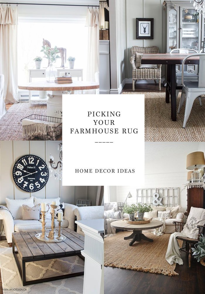 Farmhouse Living Room with Rug Luxury Finding the Perfect Farmhouse Rug Lynzy & Co