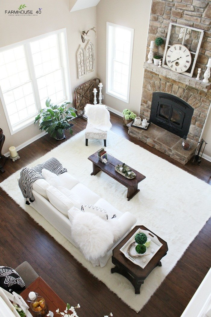 Farmhouse Living Room with Rug Luxury Rug Reveal Day is It Rug 1 2 or 3 Farmhouse 40