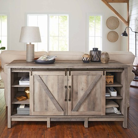 """Farmhouse Tv Stand Design Ideas and Decor Awesome Better Homes & Gardens Modern Farmhouse Tv Stand for Tvs Up to 60"""" Rustic Gray Finish Best Tv"""