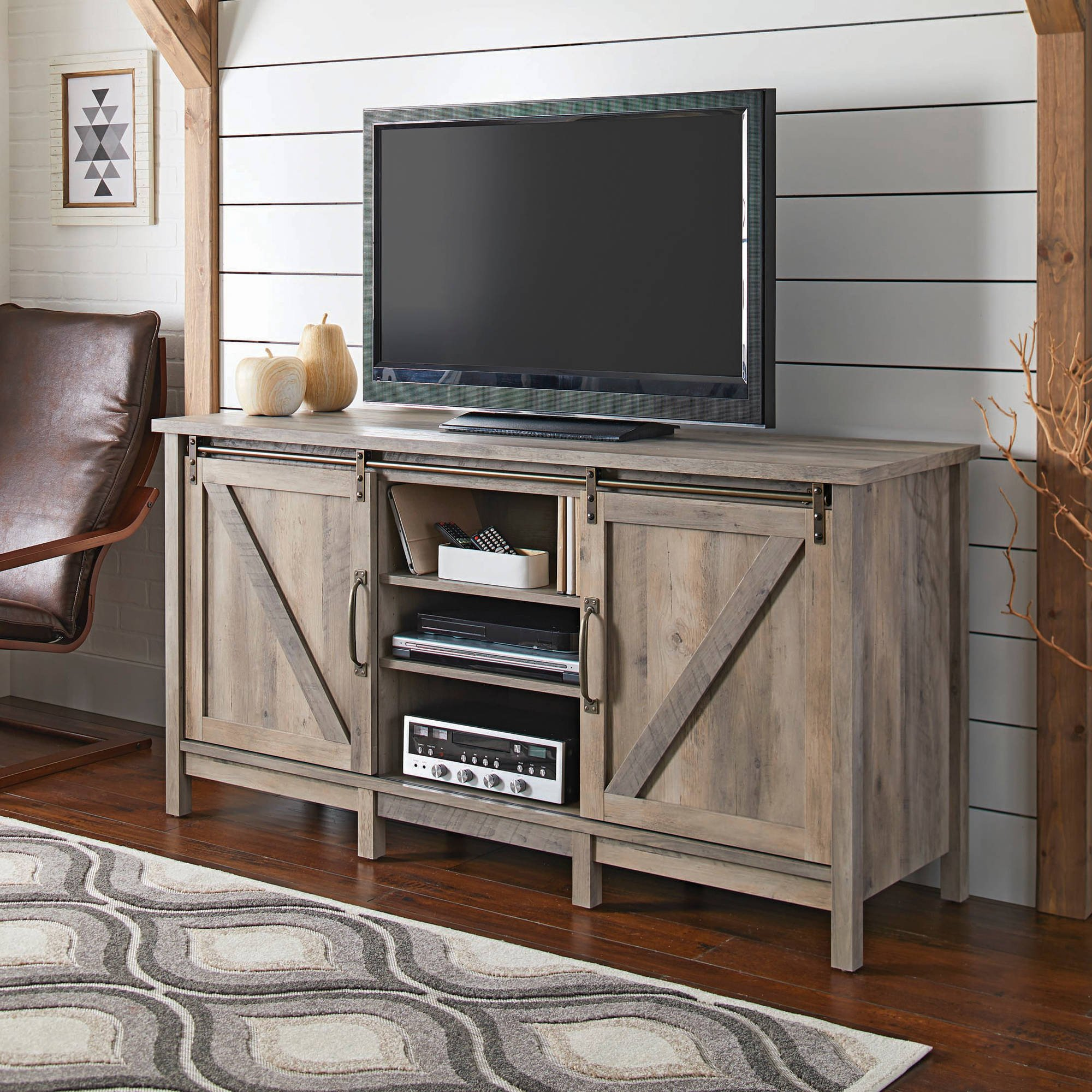 """Farmhouse Tv Stand Design Ideas and Decor Elegant Better Homes and Gardens Modern Farmhouse Tv Stand for Tvs Up to 60"""" Rustic"""