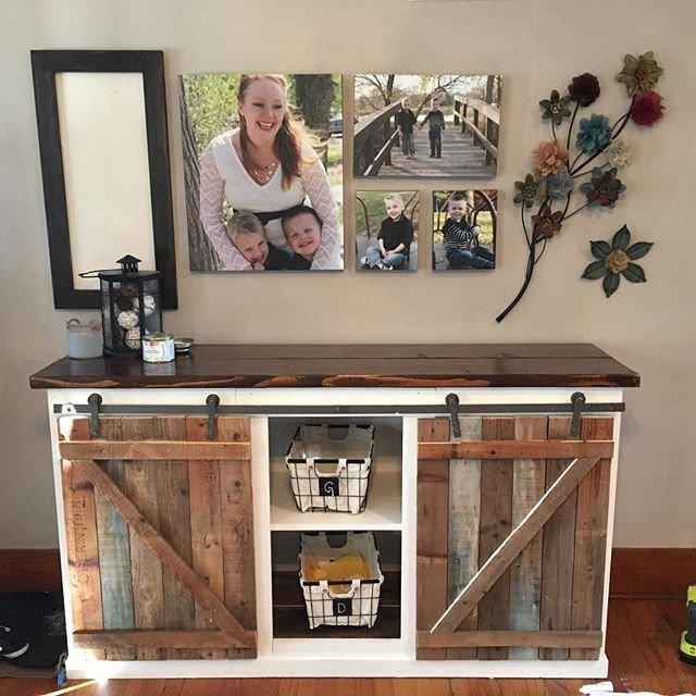 Farmhouse Tv Stand Design Ideas and Decor Luxury Diy Farmhouse Sliding Door Console From Plan Ana White 2015 08 Free Plans Grandy
