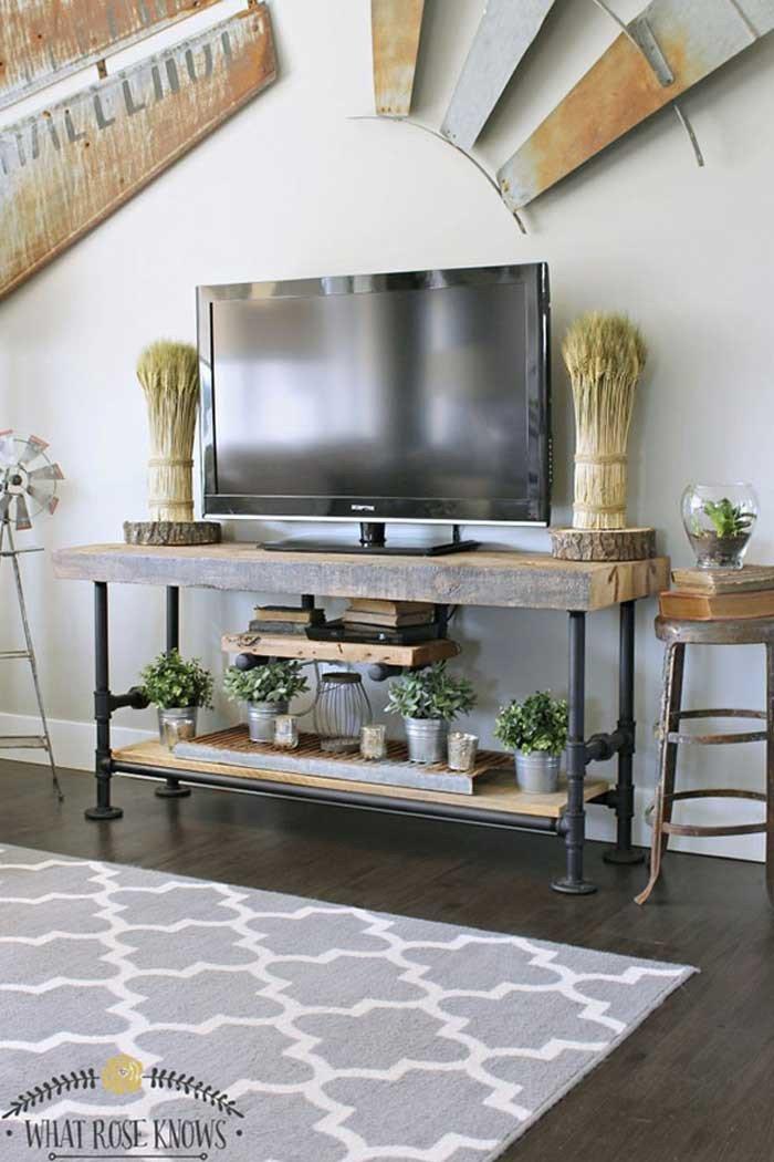 Farmhouse Tv Stand Design Ideas and Decor New 50 Creative Diy Tv Stand Ideas for Your Room Interior Diy Design & Decor