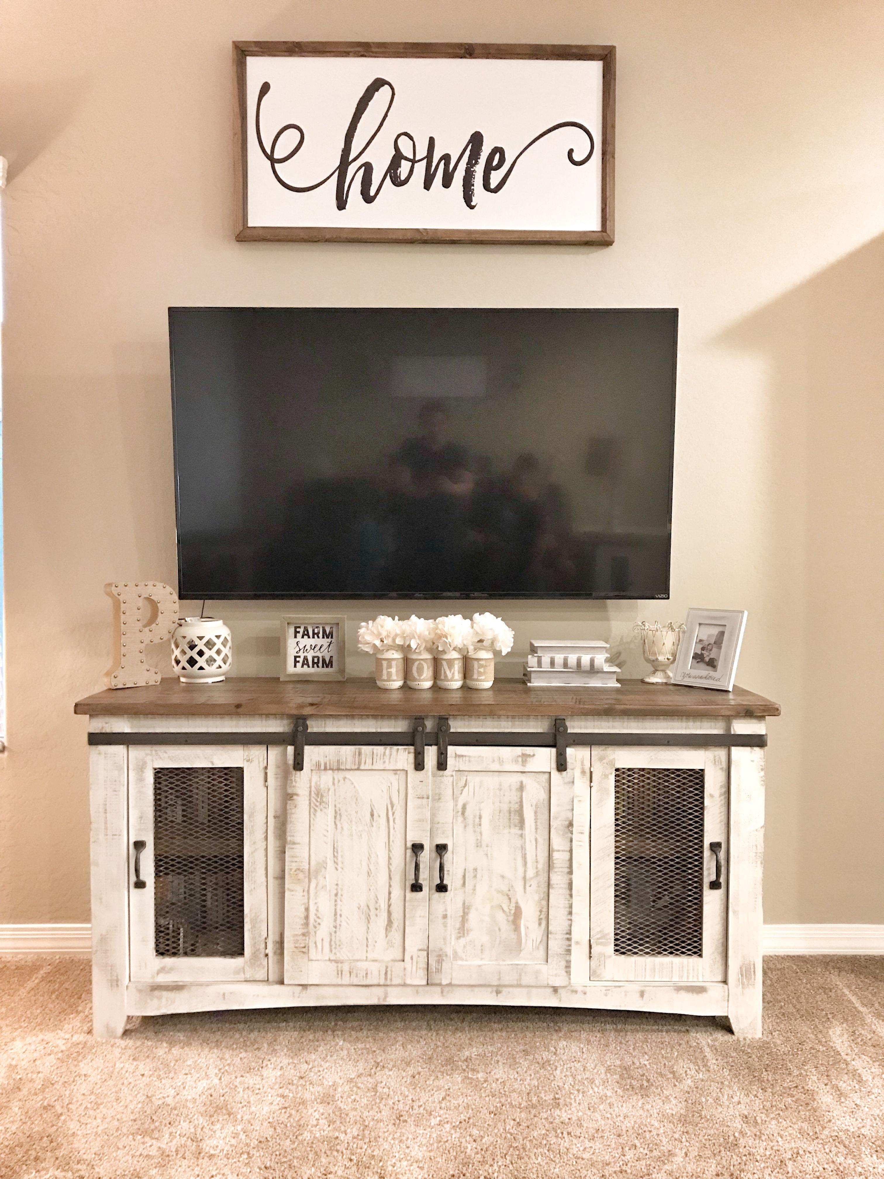 Farmhouse Tv Stand Design Ideas and Decor New Farmhouse Tv Stand Tv Stand Decor Media Stand Decor New Home Decor