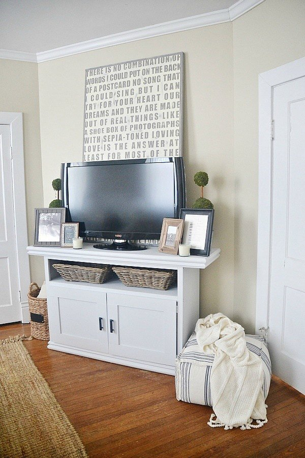 Farmhouse Tv Stand Design Ideas and Decor Unique How to Decorate Around A Tv Liz Marie Blog