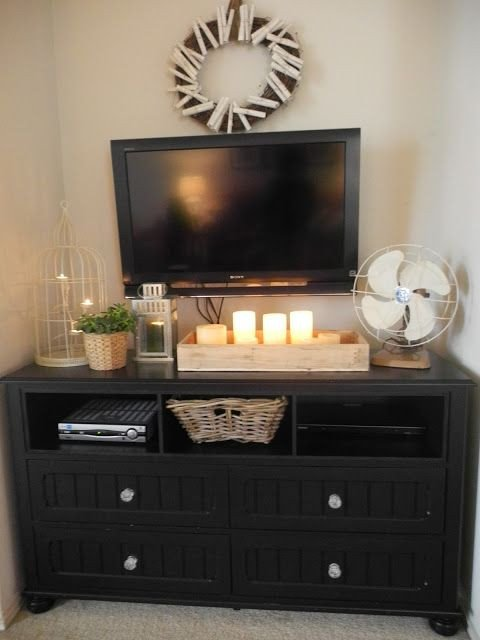 Farmhouse Tv Stand Design Ideas and Decor Unique Popular Bedroom Dresser Tv Stand Bo Pertaining to Existing House with