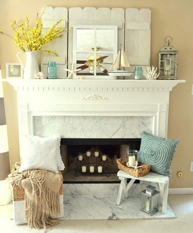 Fireplace Mantel Decor Ideas Home Beautiful 10 Fireplace Mantel Décor Ideas Furniture Home Ideas Pinterest