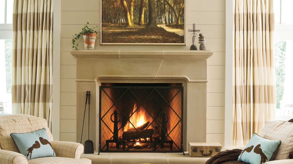 Fireplace Mantel Decor Ideas Home Beautiful 25 Cozy Ideas for Fireplace Mantels southern Living