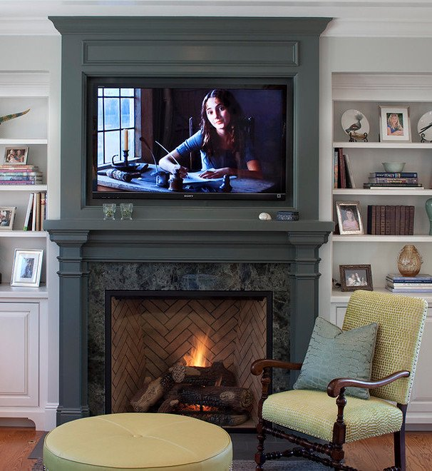 Fireplace Mantel Decor with Tv Best Of Placing A Tv Over Your Fireplace A Do or A Don T Betterdecoratingbiblebetterdecoratingbible