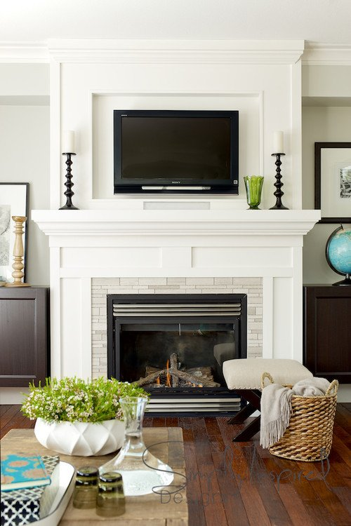 Fireplace Mantel Decor with Tv Lovely Hanging Your Tv Over the Fireplace Yea or Nay