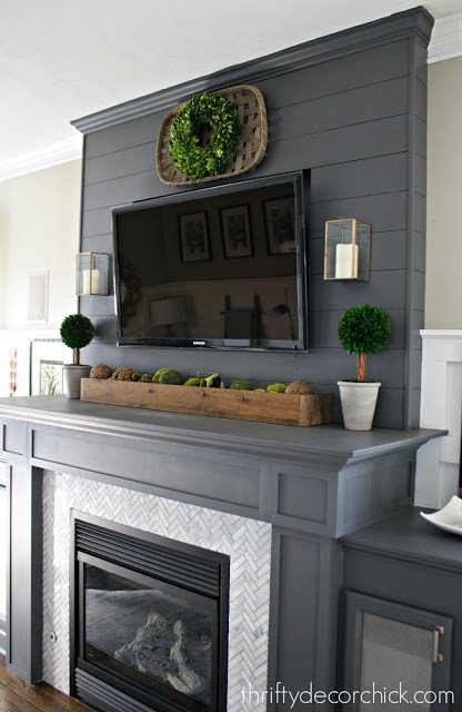 Fireplace Mantel Decor with Tv Lovely How to Decorate A Mantel with A Tv It