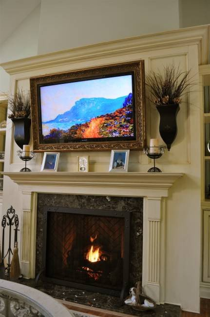 Fireplace Mantel Decor with Tv Unique 30 Multifunctional and Modern Living Room Designs with Tv and Fireplace