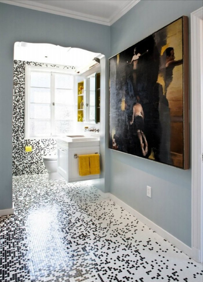 Floor and Decor Bathroom Ideas Elegant Mosaic Tile for the Best Modern Decor