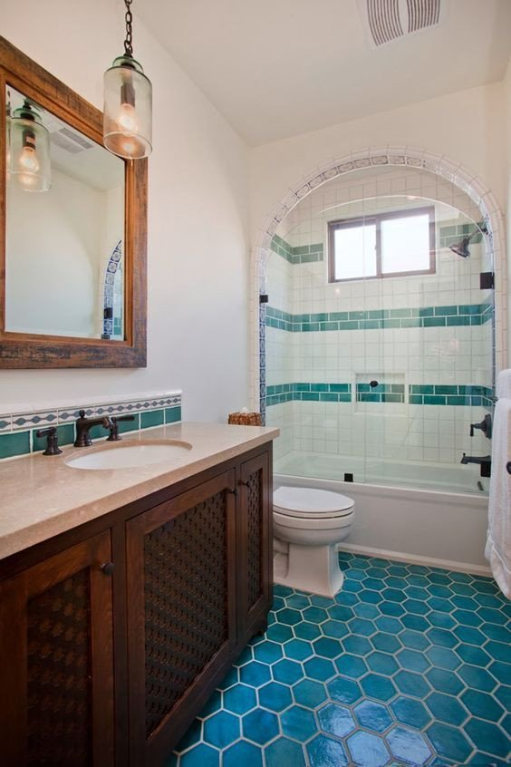 Floor and Decor Bathroom Ideas Inspirational Mexican Tile Floor and Decor Ideas for Your Spanish Style Home In 2019