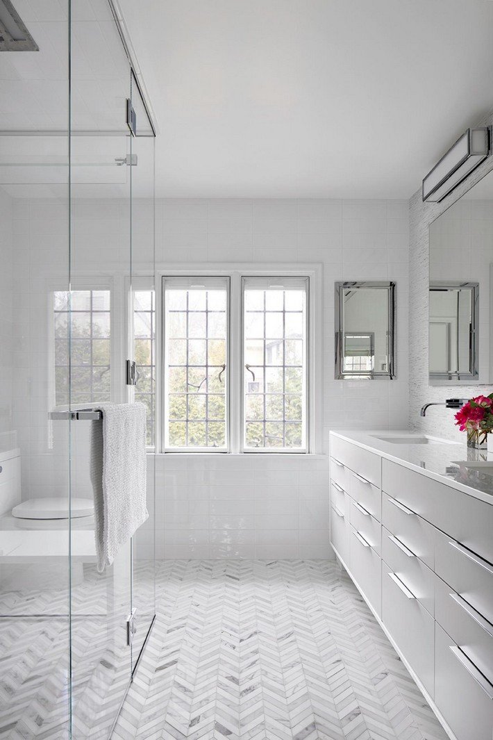 Floor and Decor Bathroom Tile Best Of Minimalist White Bathroom Designs to Fall In Love