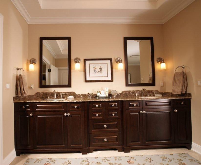 Floor and Decor Bathroom Vanities Best Of Vanity Mosaic Tile Square Mirror Wall Light Brown Granite Vanity tops Black Master Bath