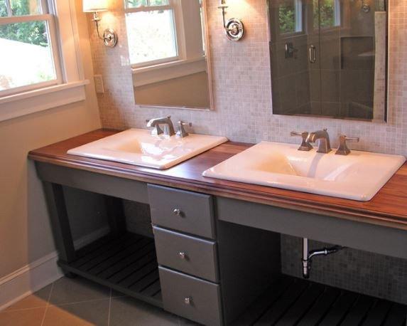 Floor and Decor Bathroom Vanities Best Of Wood Countertops for Bathroom Vanities Addicted 2 Decorating